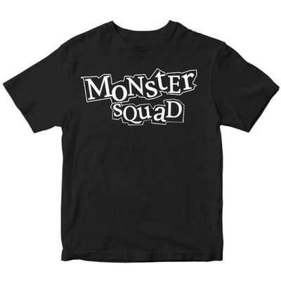 Monster Squad - Logo - Black or Natural - T-Shirt