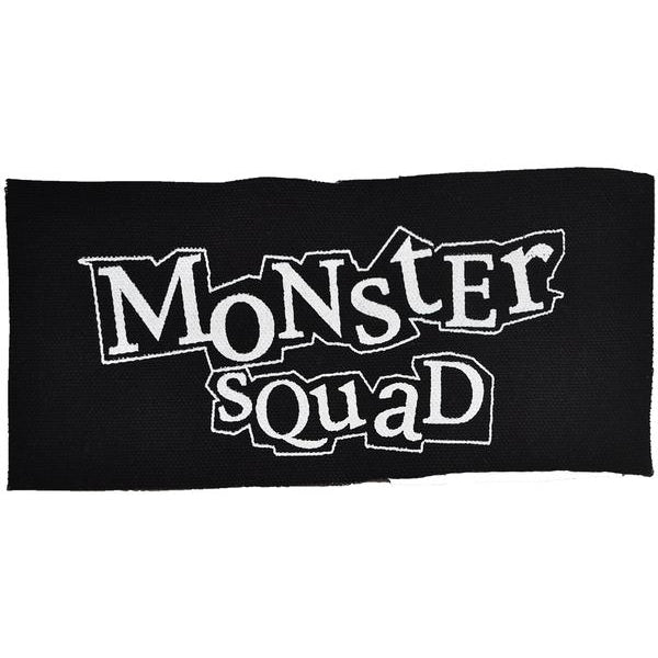 "Monster Squad - Logo - Patch - Canvas - 7"" x 3.5"""
