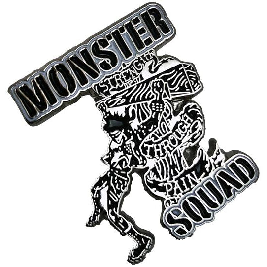 "Monster Squad - Strength Through Pain - 1.25"" Enamel Pin"
