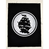 "Pirates Press - Circle Logo - Back Patch - 12""x12"""