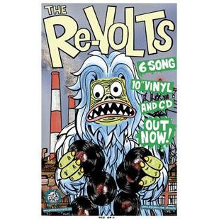 Re-Volts - Monster - Cardstock