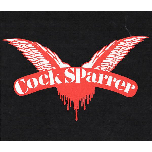 "Cock Sparrer - Wings - Back Patch - Cloth - Screened - 12"" x 12"""