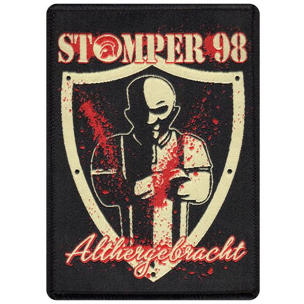 "Stomper 98 - Althergebracht - Patch - Woven - 4"" x 2.75"