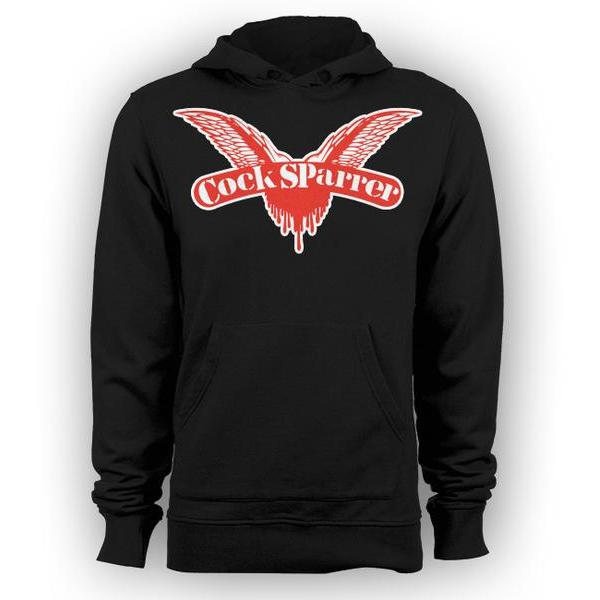 Cock Sparrer- Wings - Pullover Hoodie - Black - Youth