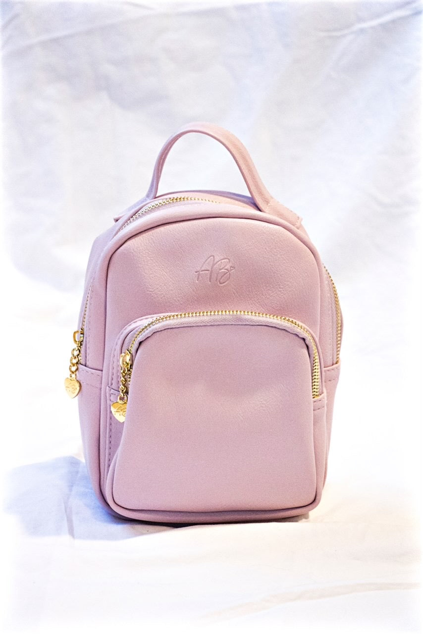 AB Mini Book Bag | Blush Lemonade