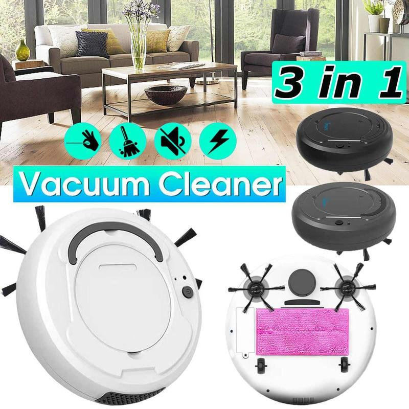 Smart Automatic Rechargeable Clean Sweeping Robot Mop - Nextduck®