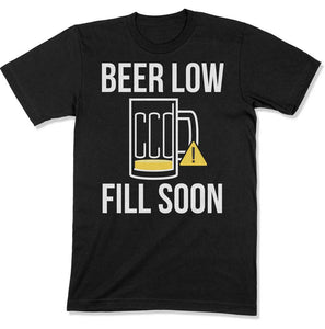 Beer Low, Fill Soon