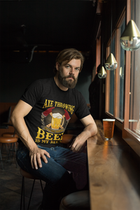 Axe Throwing and Beer - Show Us Your Shirt
