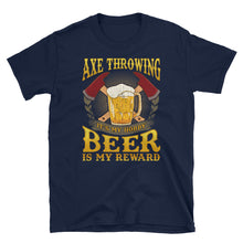 Load image into Gallery viewer, Axe Throwing and Beer - Show Us Your Shirt