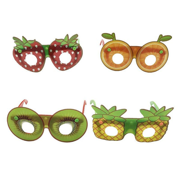 Fruit Shape Children Decorative Glasses Handmade DIY Party Cartoon Funny Sunglasses Toys for Children's Day Birthday Gifts