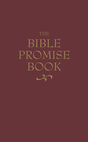 The Bible Promise Book (KJV)-Burgundy