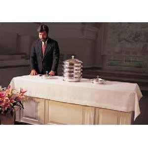 "Communion-Table Cover-Linen White (50"" x 86"")"