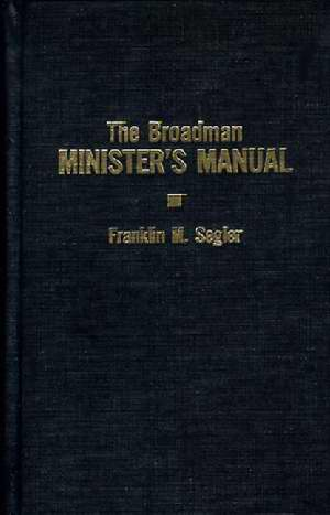 Broadman's Minister's Manual