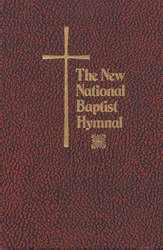 Hymnal-New National Baptist Pew Edition-Red
