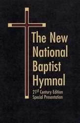 Hymnal-New National Baptist 21st Century-Special Presentation-Black Leather