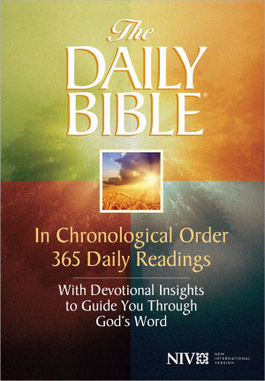 NIV Daily Bible In Chronological Order-Softcover