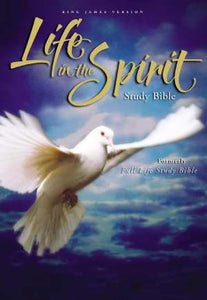 KJV Life In The Spirit Study Bible-Hardcover Formerly Full Life Study