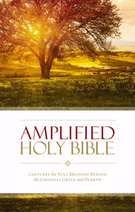 Amplified Holy Bible (Revised)-Hardcover
