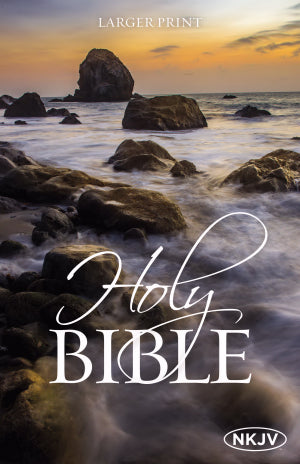 NKJV Larger Print Bible-Softcover