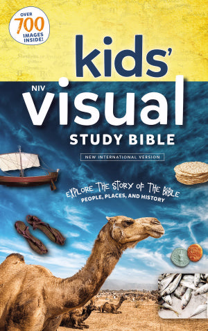 NIV Kids' Visual Study Bible (Full Color)-Hardcover