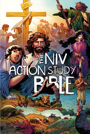 NIV The Action Study Bible-Hardcover