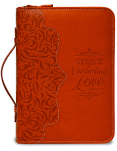 Bible Cover-X Large-Red-Everlasting Love