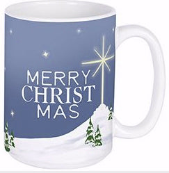 Mug-Merry Christmas w/Gift Box (15 Oz)