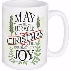 Mug-Miracle Of Christmas w/Gift Box (15 Oz)