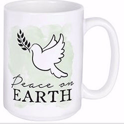 Mug-Peace On Earth w/Gift Box (15 Oz)
