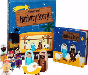 My Very Own Nativity Story Play Set