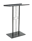 Cross Podium with Steel Construction