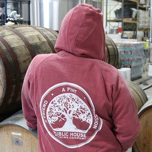 Public House Brewing Company Hoodie Back