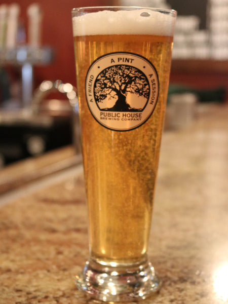 Footed Pilsner Glass