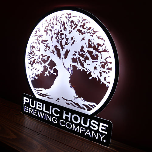 Round PHBC LED Bar Sign