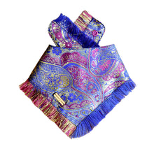 Load image into Gallery viewer, Amethyst Attraction Frayed Dog Bandana