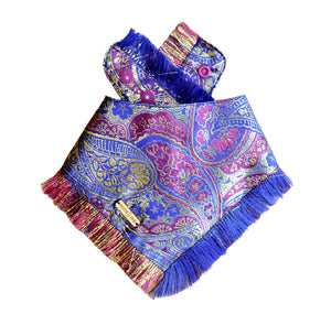 Amethyst Attraction Frayed Dog Bandana