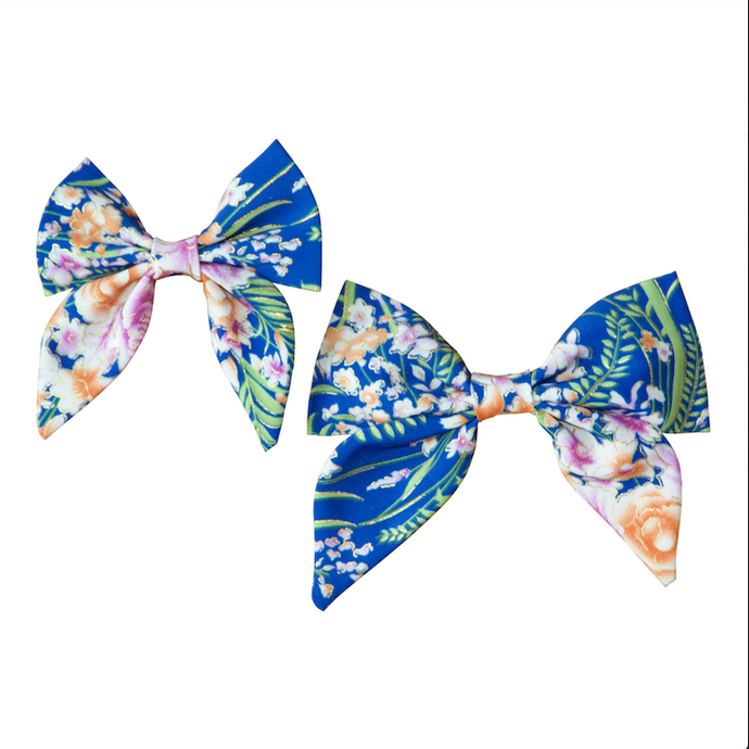 Cobalt Fairy Sailor Bow / Bow Tie