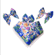 Load image into Gallery viewer, Cobalt Fairy Sailor Bow / Bow Tie