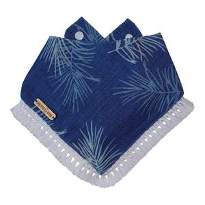 Private Beach Dog Bandana with Tassels