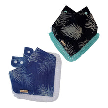 Load image into Gallery viewer, Luxury Palms Dog Bandana with Tassels