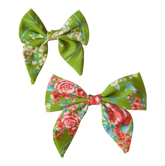 Grassy Meadows Sailor Bow / Bow Tie