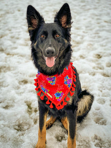 Cherished Rose Dog Bandana