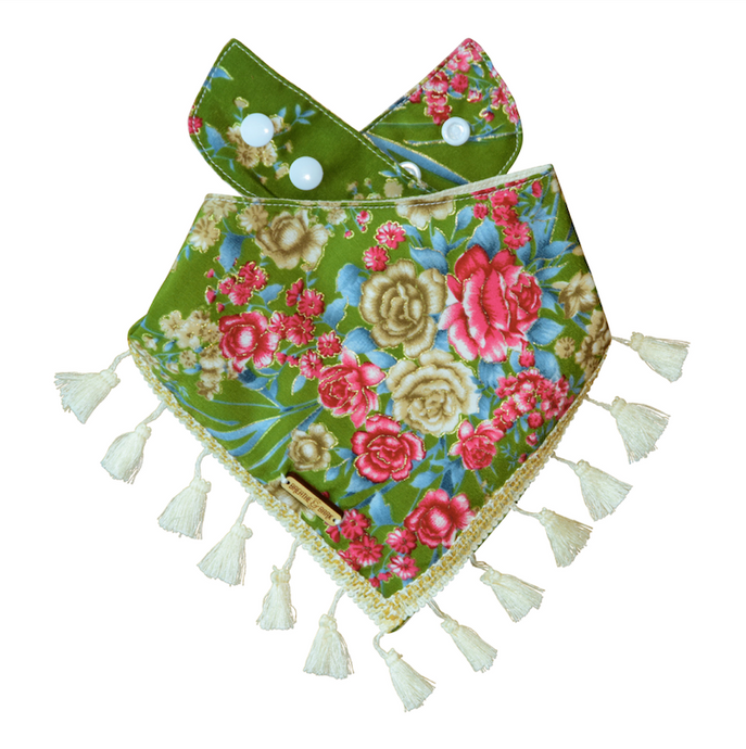 Grassy Meadow Dog Bandana