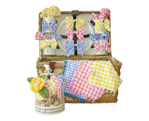 Summer Picnic Bows or Bow Ties