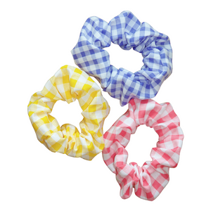 Summer Picnic Scrunchies