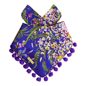 Violet Delights Dog Bandana
