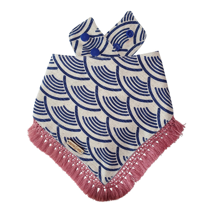 Wild Waves Dog Bandana