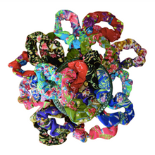 Load image into Gallery viewer, Enchanted Garden Scrunchies