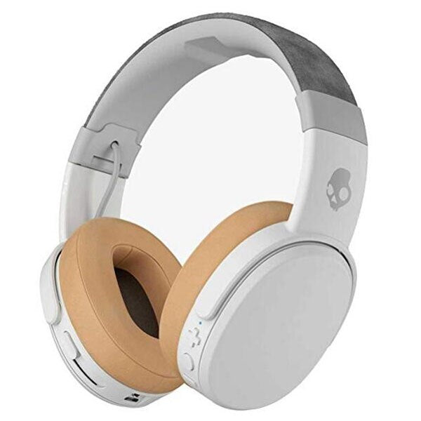 37703a9e210 Skullcandy Crusher Bluetooth Wireless Over-Ear Headphone Noise Cancellation  Rapid Charge HiFi Stereo Bass Handsfree ...