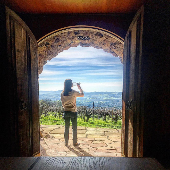 On Top of The World at The Historic Hanzell Farm and Vineyards